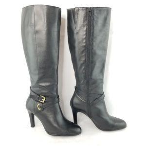 Lauren Ralph Lauren Boots Becca Stiletto Heels 8B